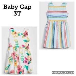 2 baby gap dresses 👗